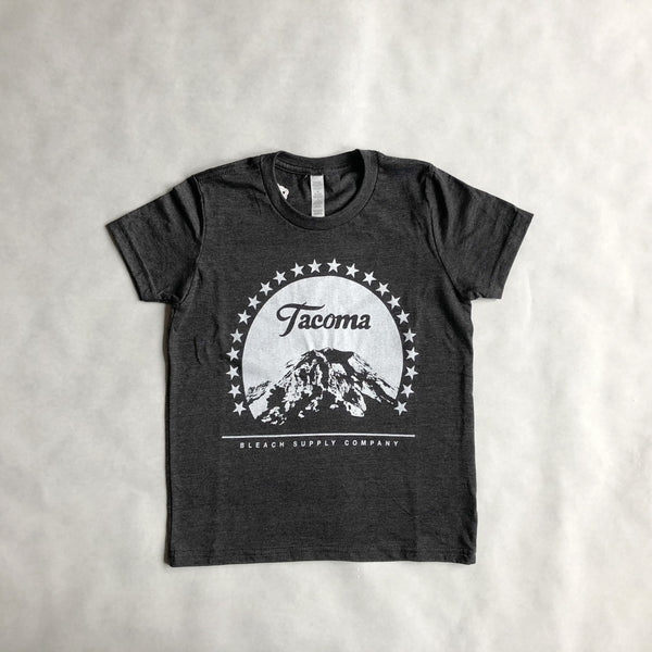 Youth Paramount Tee | Charcoal