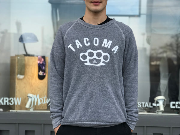 Tacoma Knuckles Crewneck | Grey
