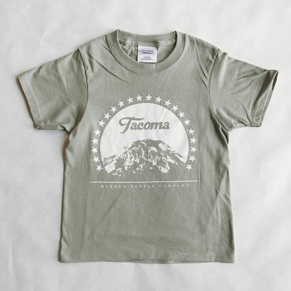 Youth Paramount Tee | Washed Green