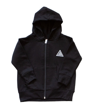 TAHOMA TODDLER ZIP HOODIE - HEATHER