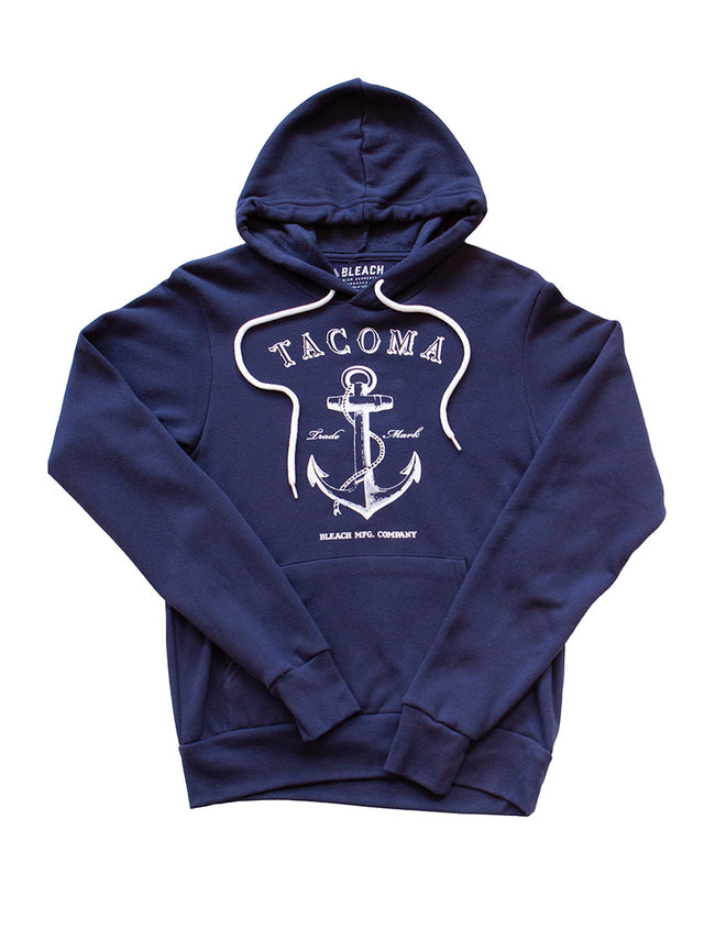 ANCHOR HOODIE - NAVY/WHITE