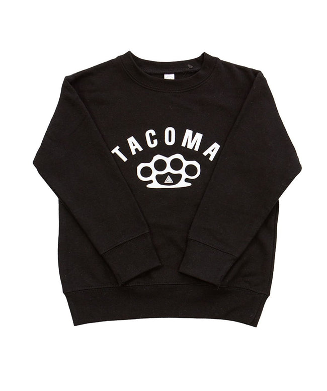 KNUCKLES TODDLER CREWNECK - BLACK