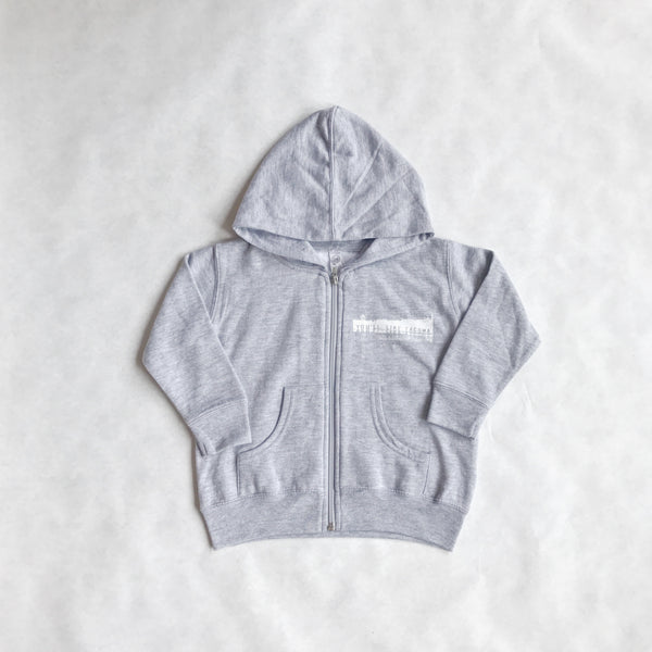 Kids You'll Like Tacoma + Paramount Zip Hoodie | Light Grey