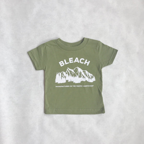 Infant Bleach NW Tee | Olive Green