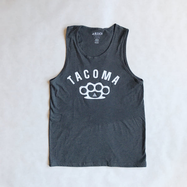 Mens Knuckles Tank | Charcoal