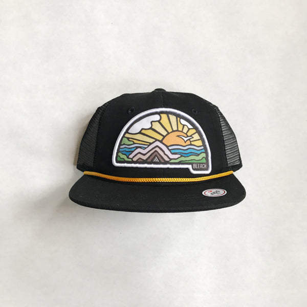 Youth Sunrise Snapback | Black