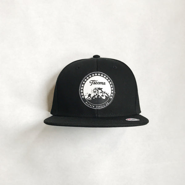 Youth Paramount Snapback | Black