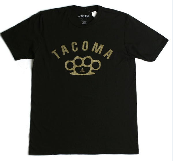 Tacoma Knuckles Tee | Black Gold