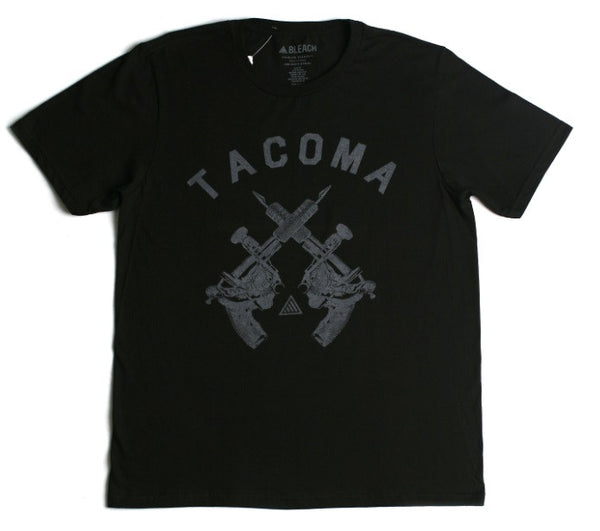 Tattoo Gun Tee | Black Grey