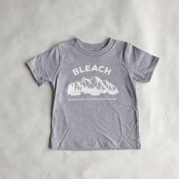 Kids Bleach NW Tee | Heather Grey