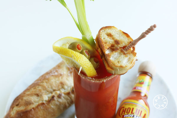 Grilled Cheese + Bloody Mary