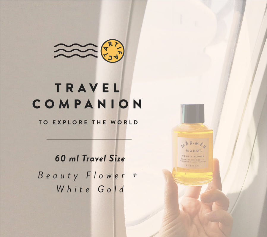 Artifact travel size 60 ml dry body oils