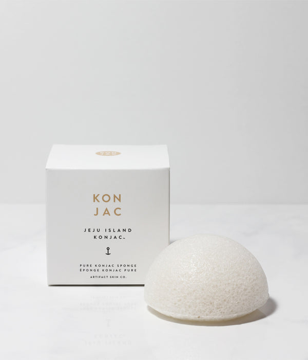 Jeju Island Pure Konjac Facial Sponge - Artifact Skin Co.