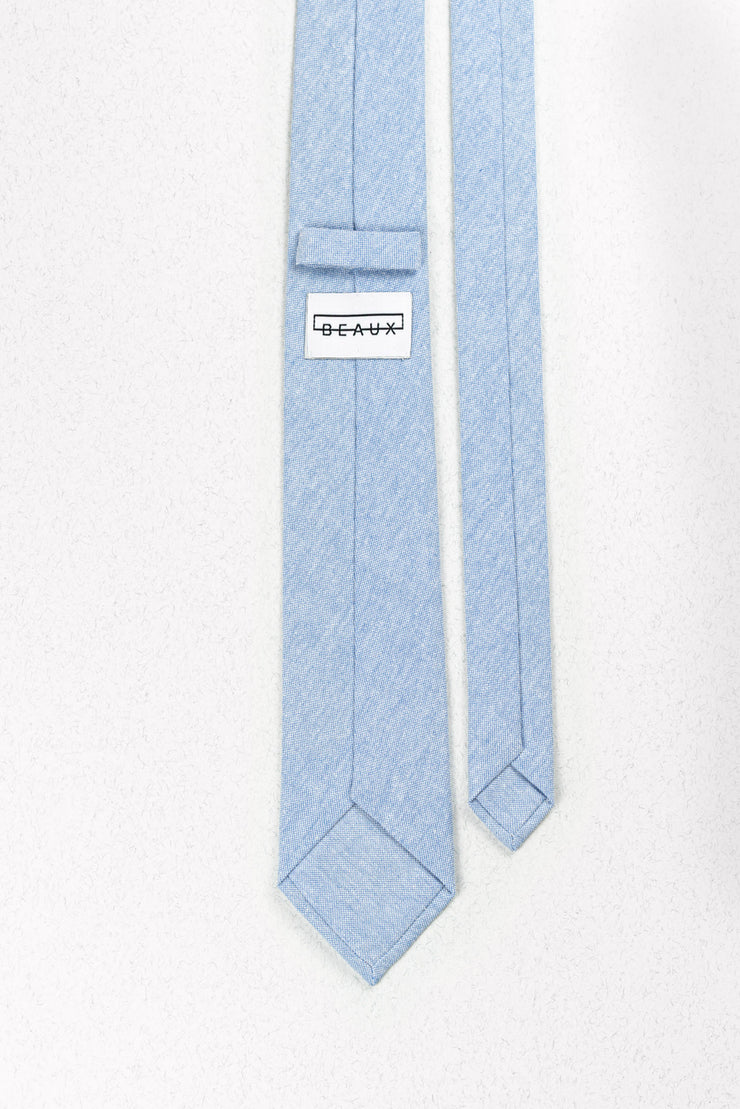 Powder Blue Skinny Necktie