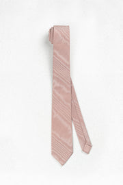 Dusty Rose Grosgrain Skinny Necktie