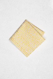 Gold Dash Pocket Square