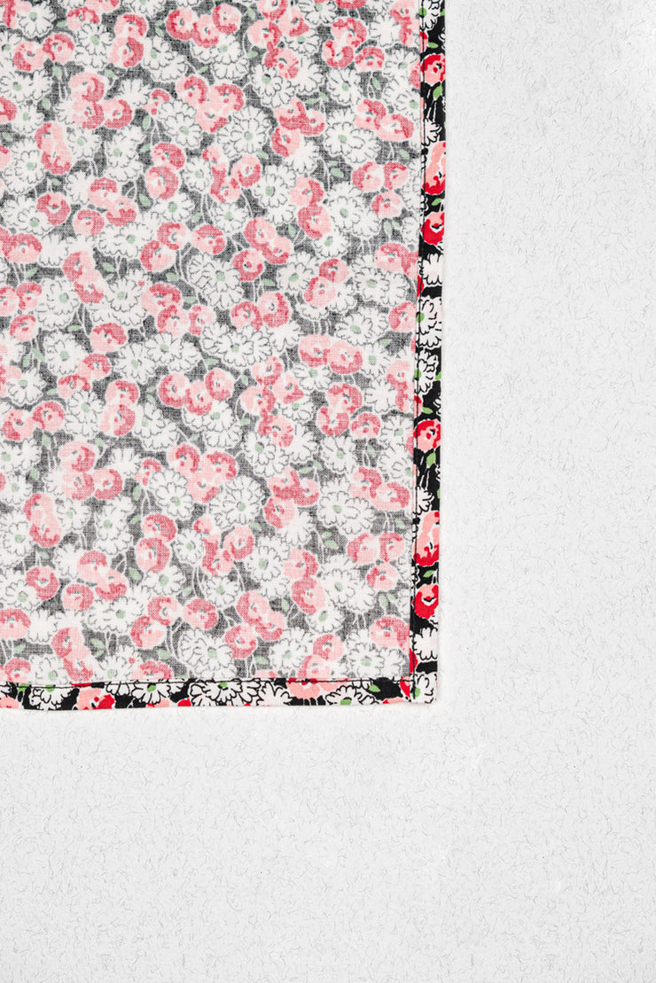 Poppies Pocket Square