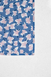 Abstract Floral Japanese Cotton Pocket Square Set