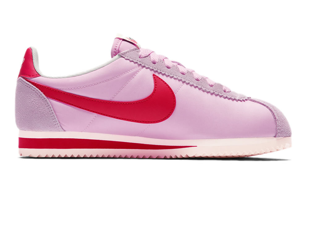newest 78e0e b023f womens nike wmns classic cortez nylon premium perfect  pink sport red sail 882258 601 all larger image - semanariodelnorte.com 17742d89f6