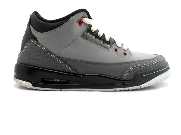 "Nike Air Jordan 3 Retro (GS) ""Stealth"""