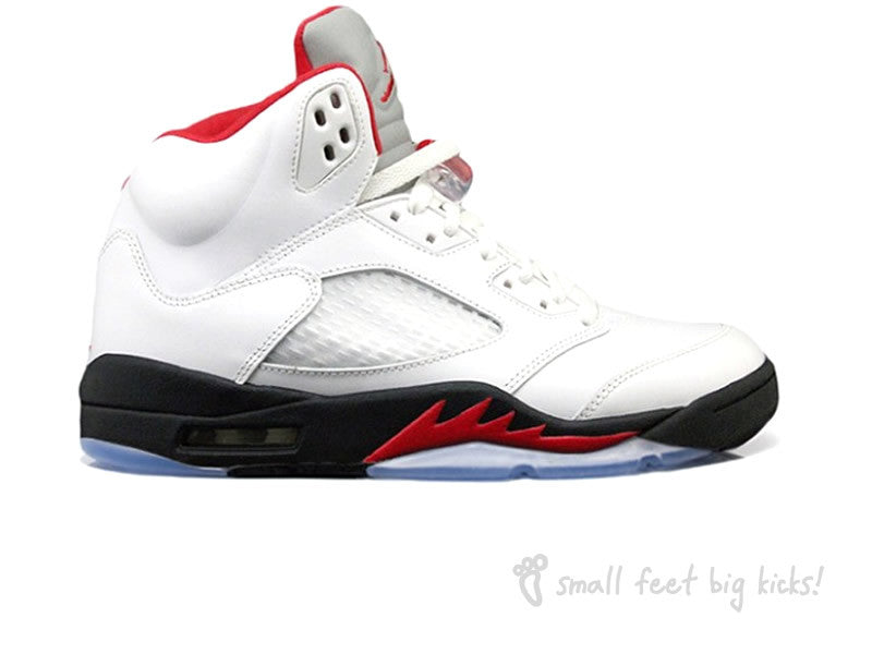 22e5bcd8ce9 Nike Air Jordan 5 Retro – Small Feet Big Kicks