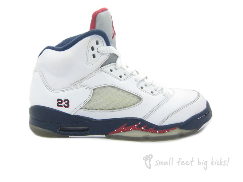 reputable site 27b5f 6d432 Nike Air Jordan 5 Retro (GS) – Small Feet Big Kicks