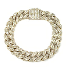 Load image into Gallery viewer, Large Pave Bracelet
