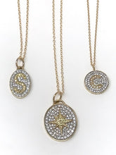 Load image into Gallery viewer, Mini Oval Signet Necklace