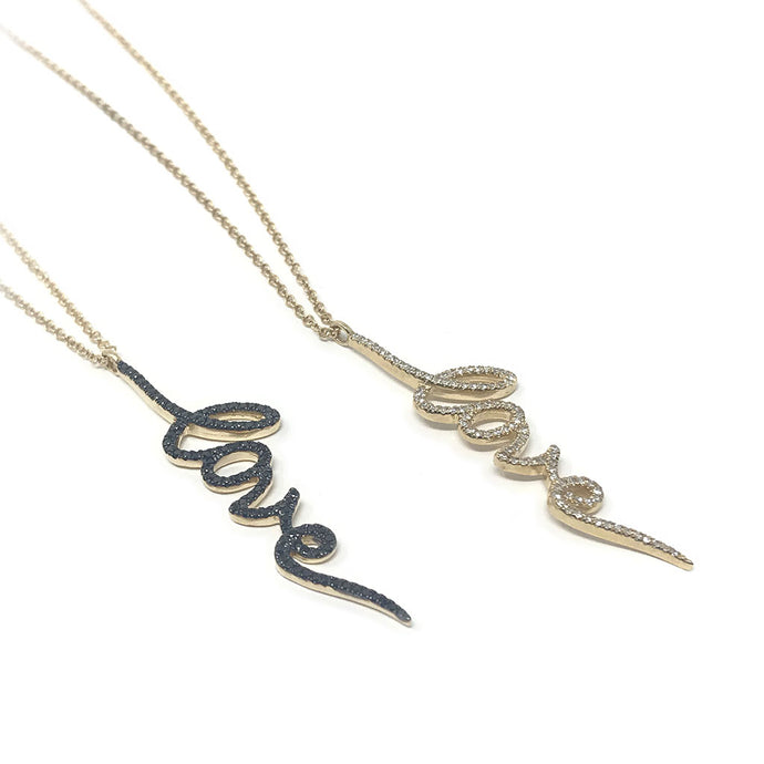 Love Necklace with Chain