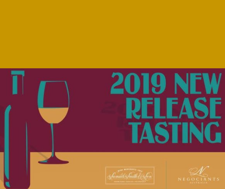 2019 New Release Tasting (Syd: 10 Sept)
