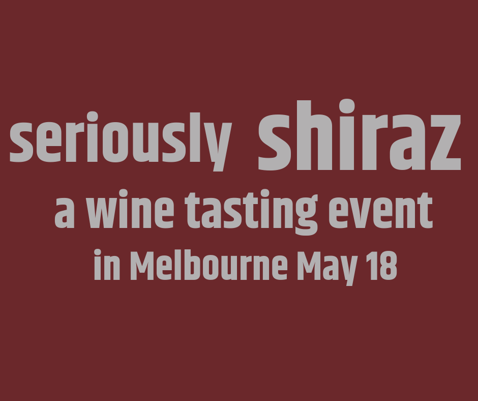 Shiraz wine tasting event in Melbourne. WineXP is your ticket to a world of wine experiences, wine tastings, wine dinners and wine events.