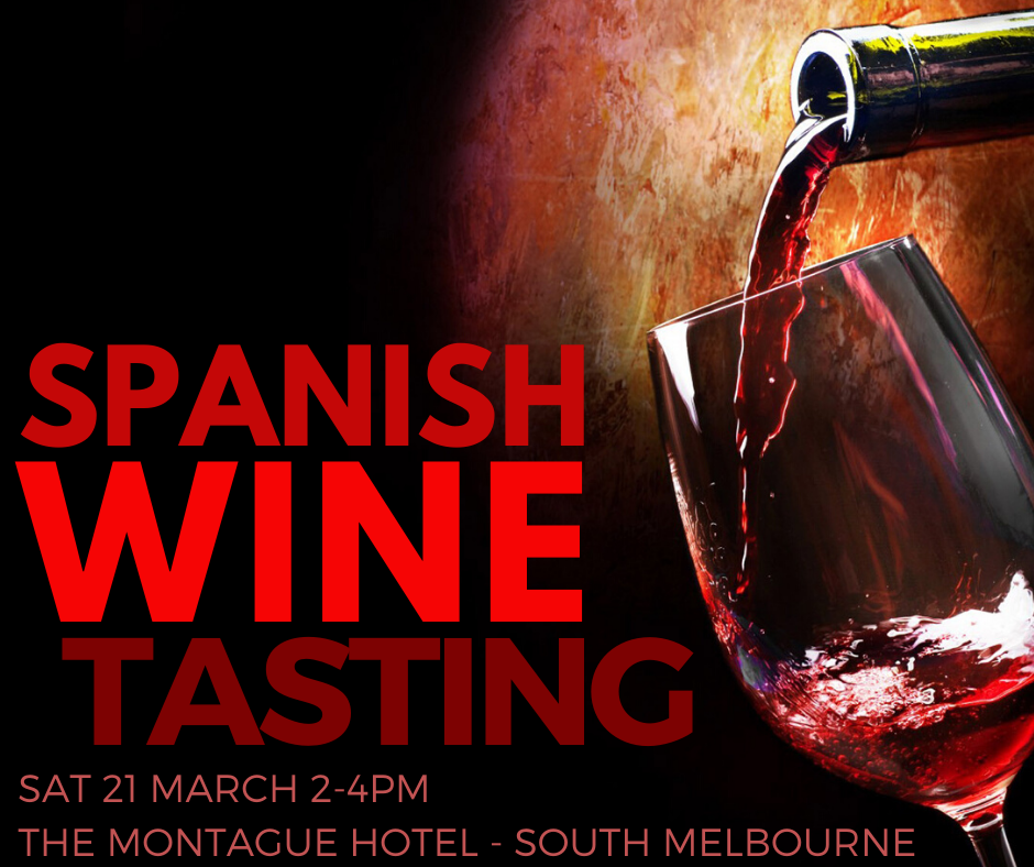 Spanish Tasting (Melb: 21 March)