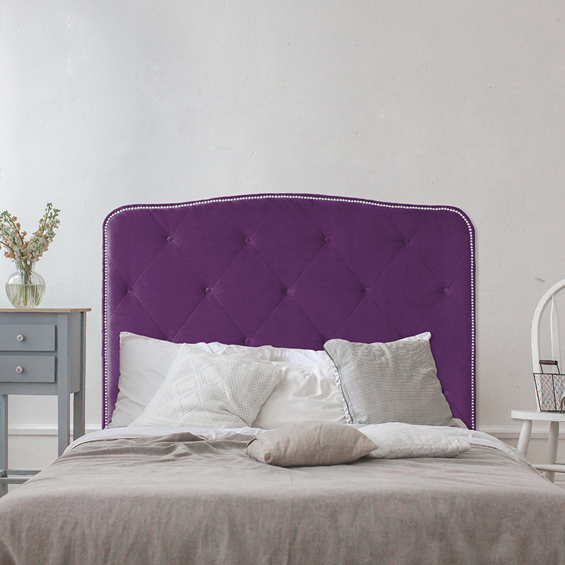 Curved-Rectangle Headboard