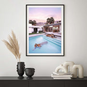 """Tiger Pool"" Framed Photographic Artwork (PRE-ORDER)"