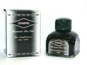 DIAMINE FOUNTAIN PEN INK -  80ml BOTTLES - Pens Paper Ink