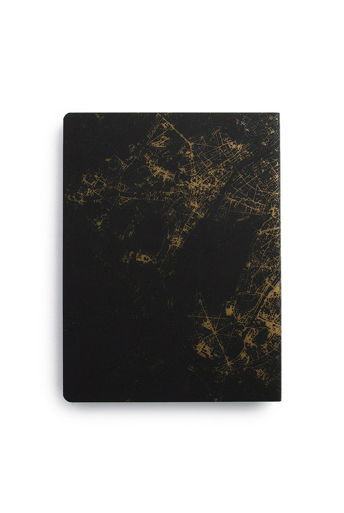 NUUNA - GRAPHIC NIGHTFLIGHT NOTEBOOK - DOT GRID -BULLET JOURNAL BACK