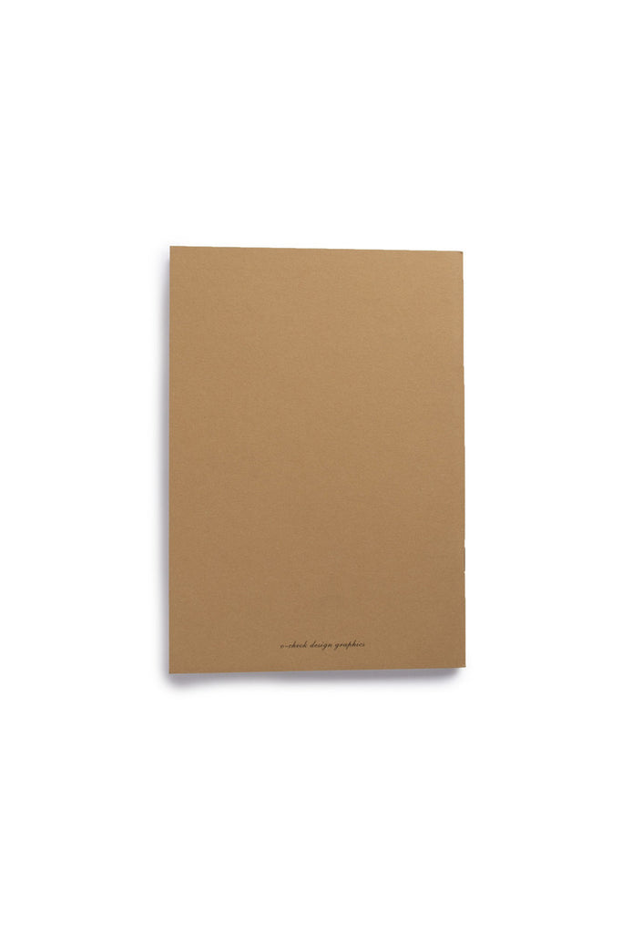 O-CHECK DESIGN GRAPHICS - CAHIER SECTION NOTEBOOK - PLAIN - MEDIUM - DEAR - Pens...Paper...Ink