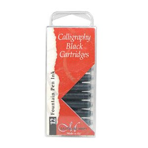 Manuscript - Black Ink Cartridges 12 - Pens Paper Ink