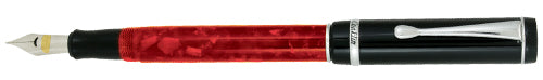CONKLIN DURAGRAPH FOUNTAIN PEN RED NIGHTS