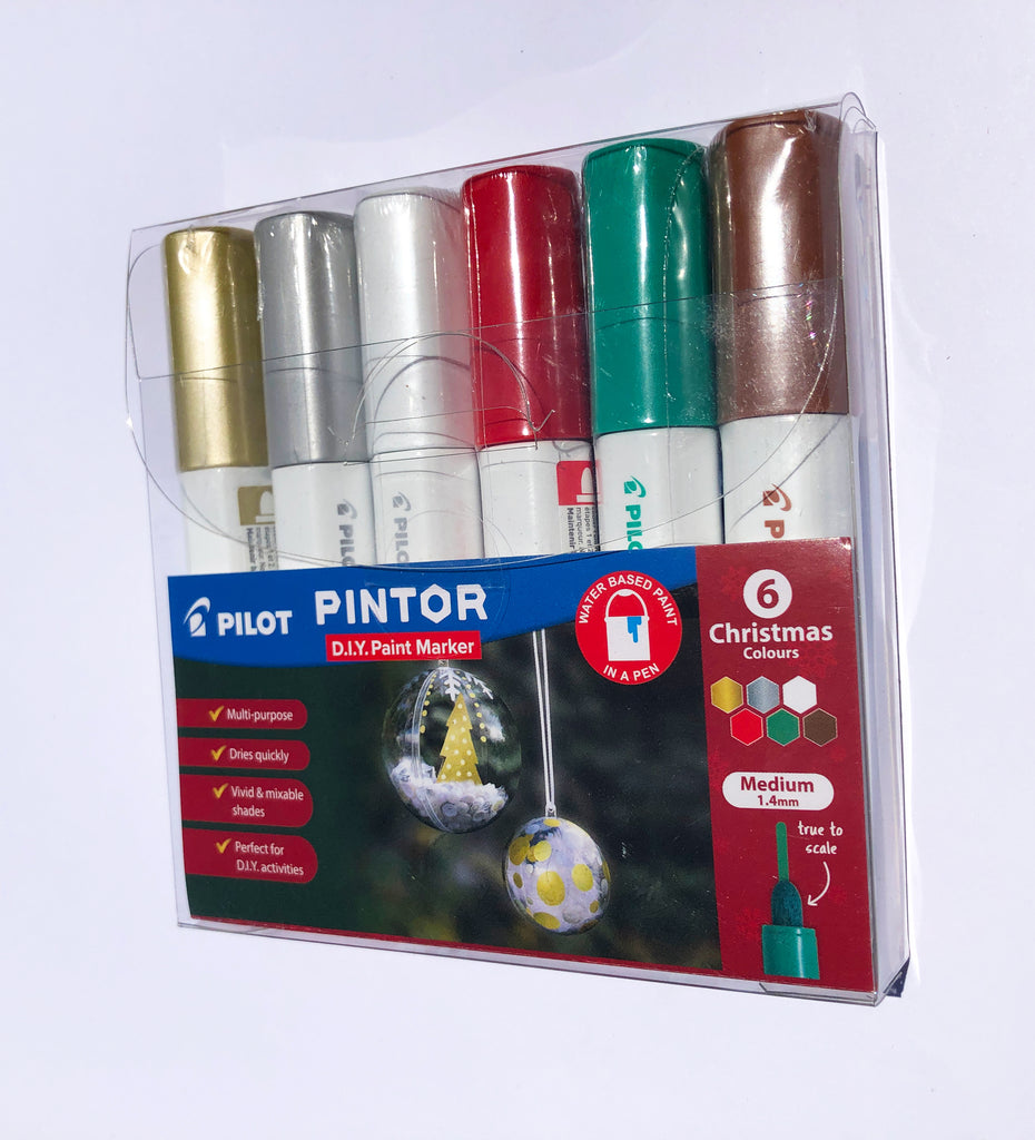 Pilot - Pintor - Christmas Edition Paint Markers