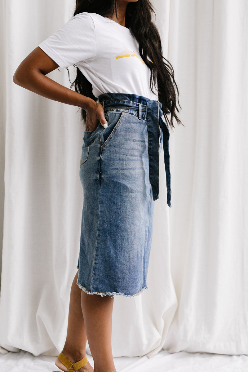 Benita Denim Skirt
