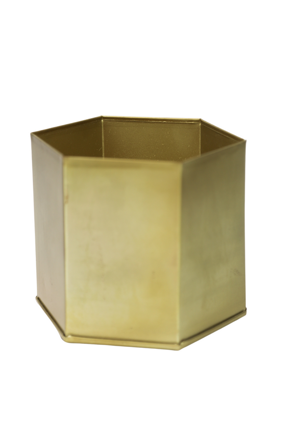 Gold Hex Pot
