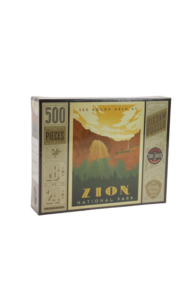 Zion National Park Puzzle 500pc