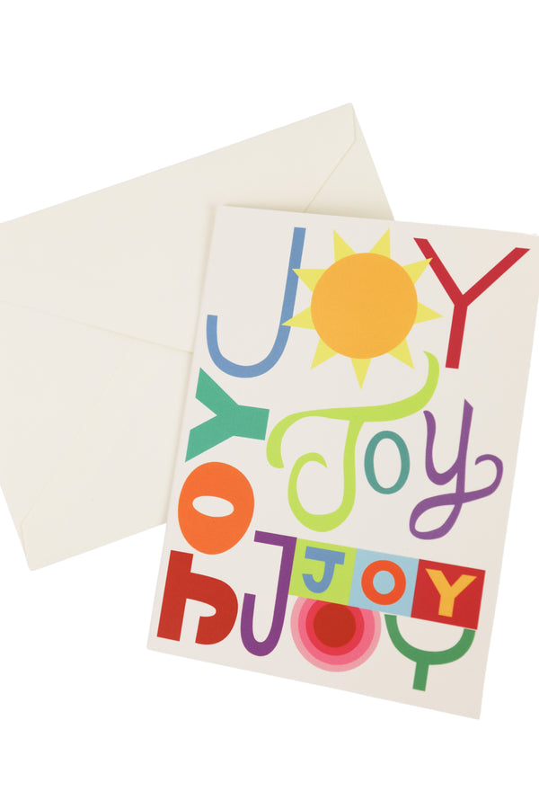 Much Joy Card + Sticker