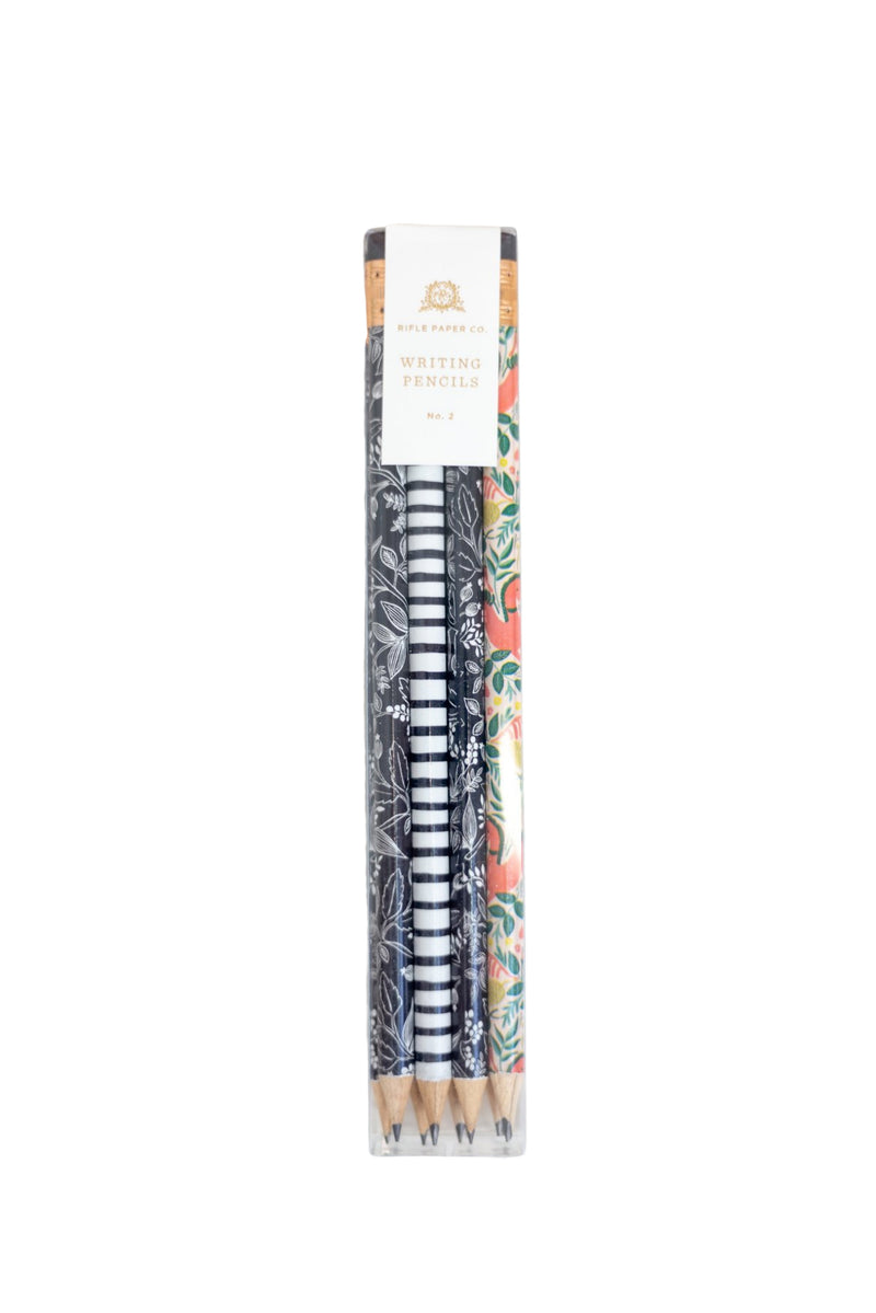 Folk Assorted Writing Pencils