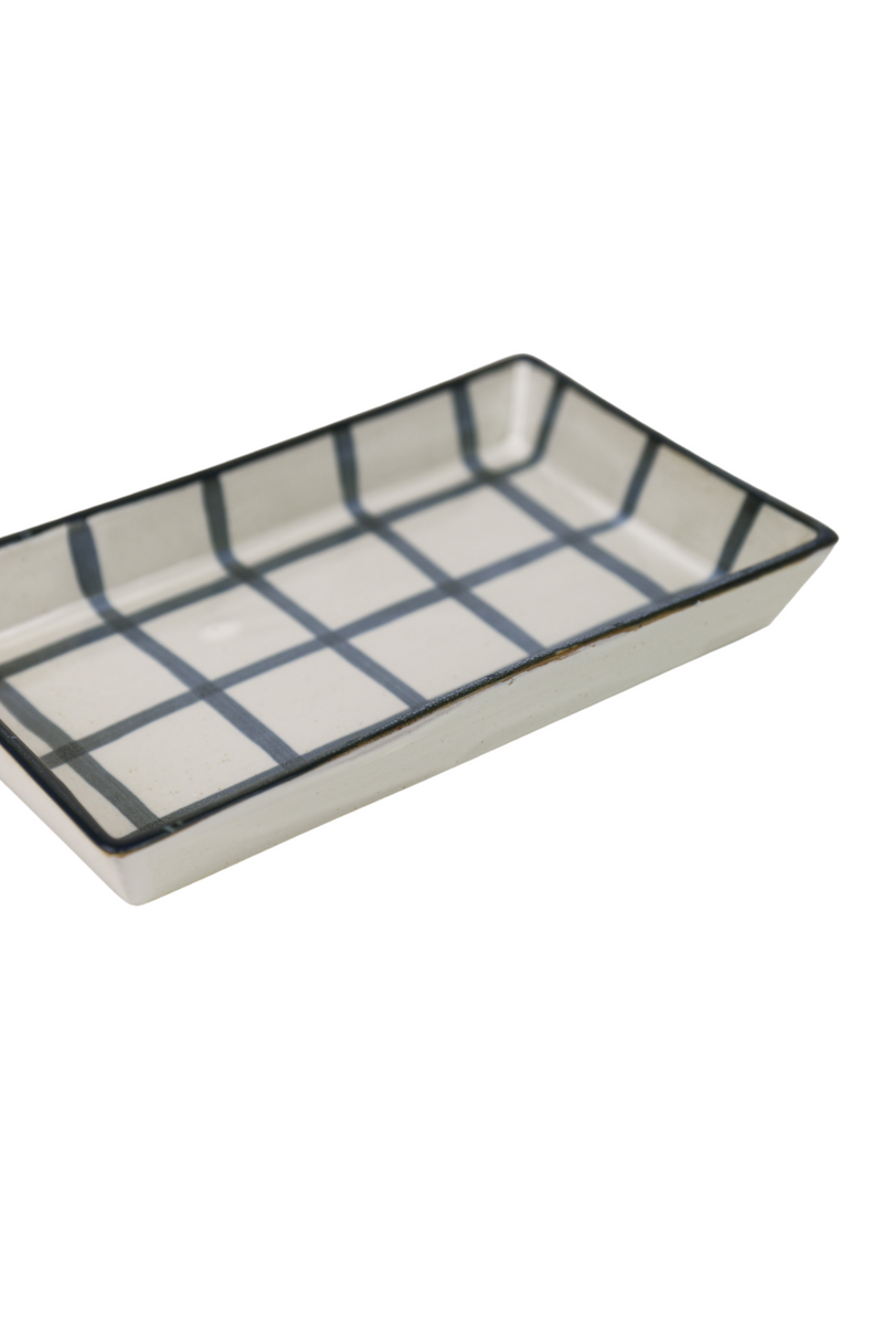 Blue Grid Trays