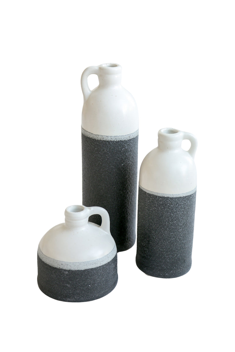Black Dipped Jugs