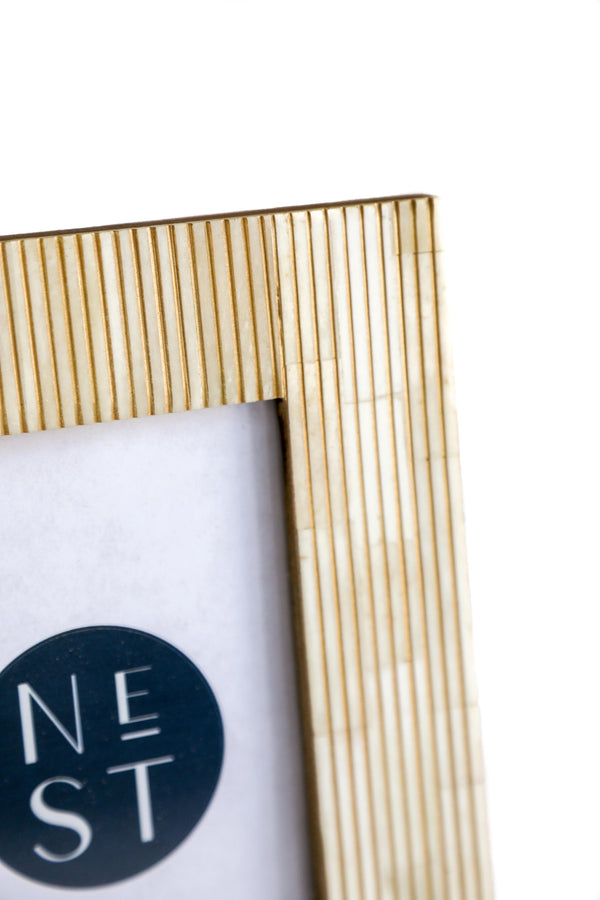 Gold Bone Frame 4x6