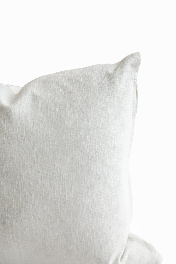 Linen Pillow in Light Blue