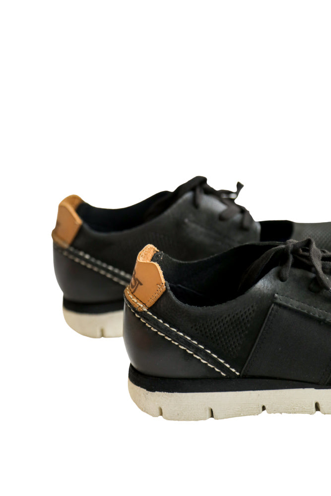 All Day Cut Out Sneaker in Black